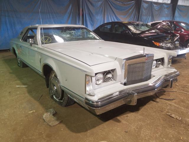 Lincoln salvage cars for sale: 1978 Lincoln Mark V