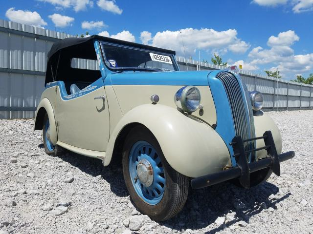 Triumph Convertibl salvage cars for sale: 1947 Triumph Convertibl