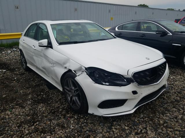 Mercedes-Benz E 350 4matic salvage cars for sale: 2015 Mercedes-Benz E 350 4matic