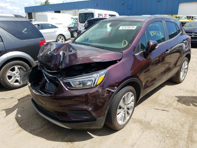 из сша 2017 BUICK ENCORE PREFERRED KL4CJASB9HB096753