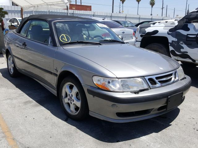 Salvage cars for sale from Copart Wilmington, CA: 2001 Saab 9-3 SE