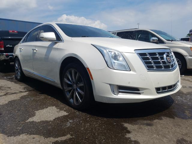 Salvage cars for sale from Copart Woodhaven, MI: 2013 Cadillac XTS Luxury