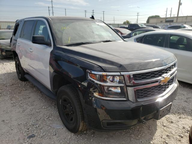 Chevrolet Tahoe Police salvage cars for sale: 2017 Chevrolet Tahoe Police