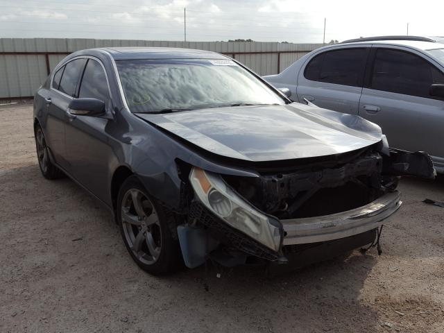 Salvage cars for sale from Copart Temple, TX: 2009 Acura TL