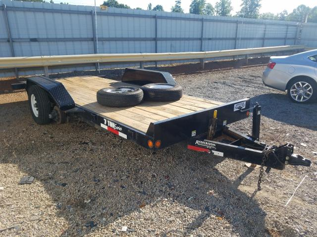 Salvage cars for sale from Copart Chatham, VA: 2017 Ande Util Trailer