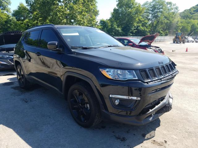 Jeep Compass LA salvage cars for sale: 2019 Jeep Compass LA