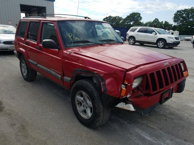 Jeep Cherokee S salvage cars for sale: 2001 Jeep Cherokee S