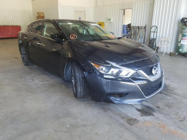 Salvage cars for sale from Copart Lufkin, TX: 2016 Nissan Maxima 3.5