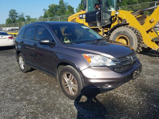 Salvage cars for sale from Copart Waldorf, MD: 2010 Honda CR-V LX