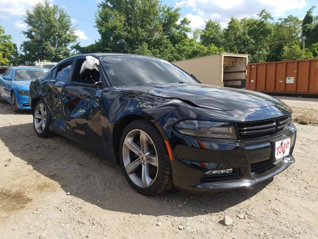 Salvage cars for sale from Copart Baltimore, MD: 2017 Dodge Charger R