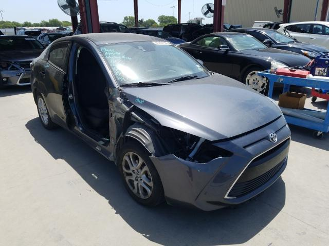 Salvage cars for sale from Copart Wilmer, TX: 2018 Toyota Yaris IA