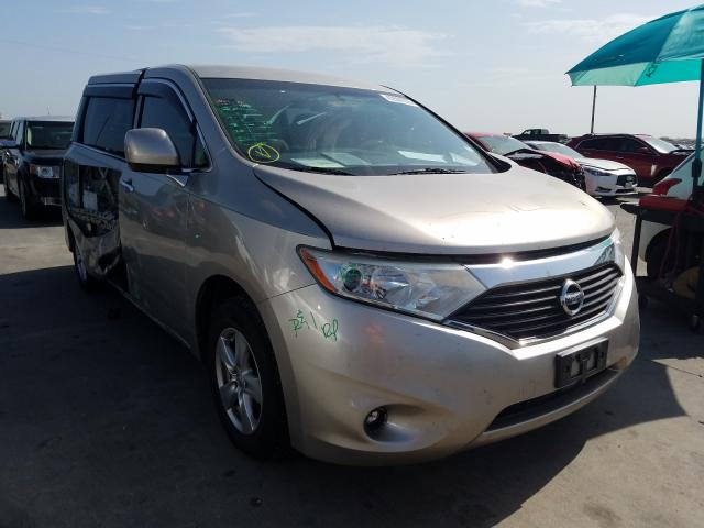 Nissan Quest S salvage cars for sale: 2013 Nissan Quest S