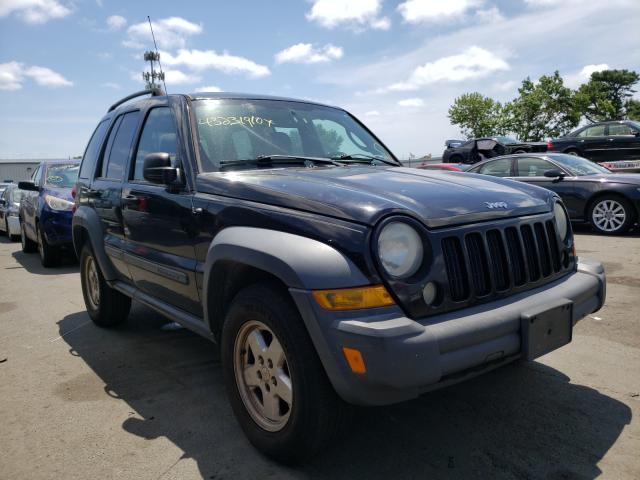 Jeep Liberty SP salvage cars for sale: 2007 Jeep Liberty SP