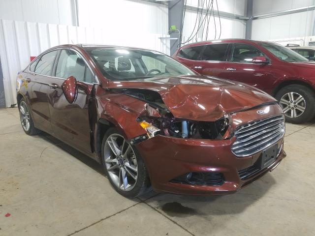 2016 Ford Fusion Titanium for sale in Ham Lake, MN