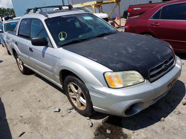 Subaru Baja Sport salvage cars for sale: 2004 Subaru Baja Sport