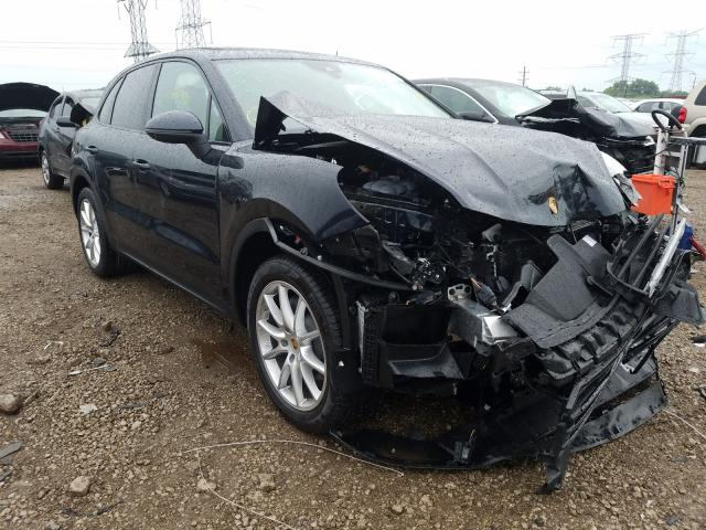 Porsche salvage cars for sale: 2020 Porsche Cayenne