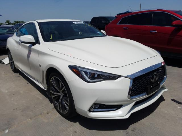 Infiniti Q60 Pure salvage cars for sale: 2019 Infiniti Q60 Pure