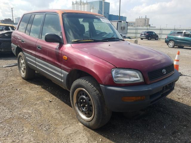 Toyota Rav4 salvage cars for sale: 1996 Toyota Rav4