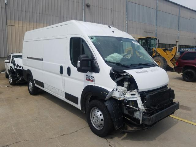 Salvage cars for sale from Copart Lawrenceburg, KY: 2019 Dodge RAM Promaster