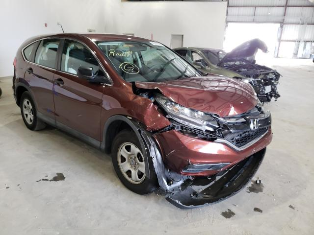 Honda CR-V LX salvage cars for sale: 2015 Honda CR-V LX