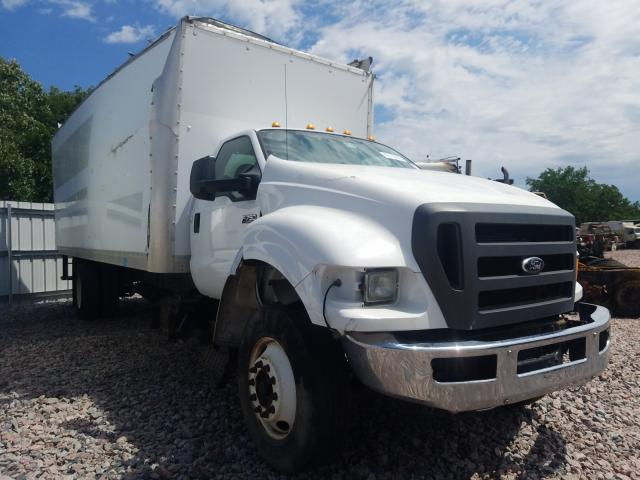 Ford F750 Super salvage cars for sale: 2012 Ford F750 Super