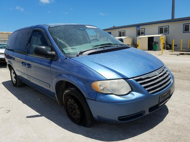 Salvage cars for sale from Copart Kapolei, HI: 2007 Chrysler Town & Country