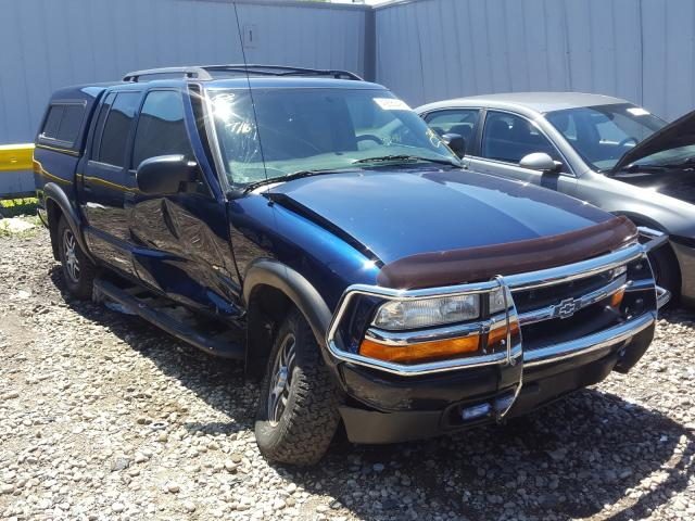 Chevrolet S Truck S1 salvage cars for sale: 2004 Chevrolet S Truck S1