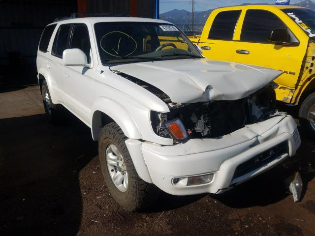 Toyota 4runner LI salvage cars for sale: 2002 Toyota 4runner LI