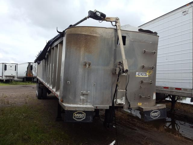 Mack Dump Trailer salvage cars for sale: 2012 Mack Dump Trailer