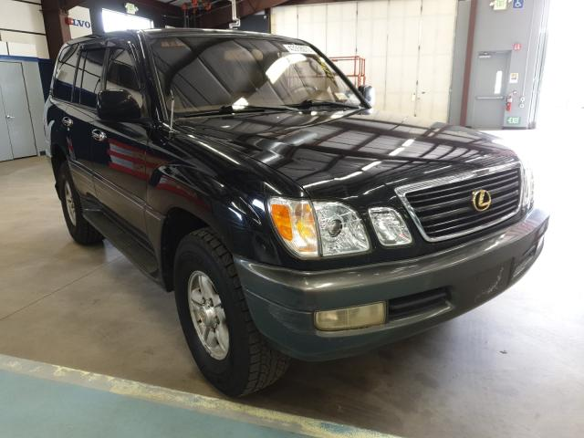 Salvage cars for sale from Copart East Granby, CT: 1998 Lexus LX 470