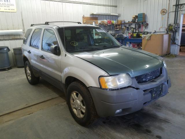 Ford Escape XLT salvage cars for sale: 2003 Ford Escape XLT