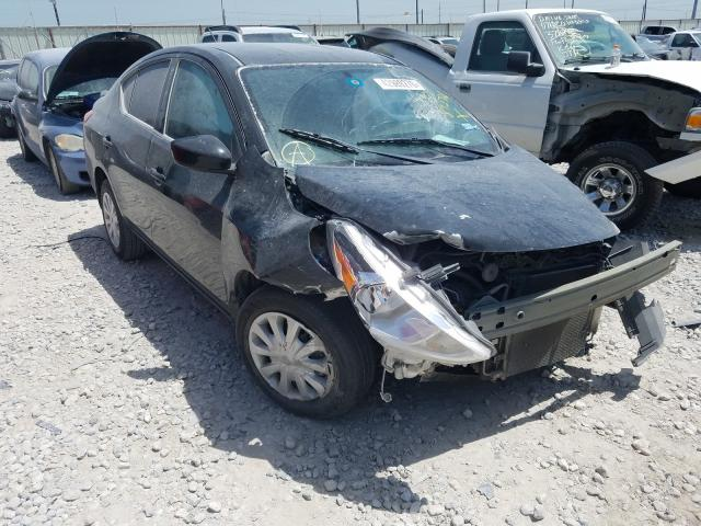 Salvage cars for sale from Copart Haslet, TX: 2016 Nissan Versa S