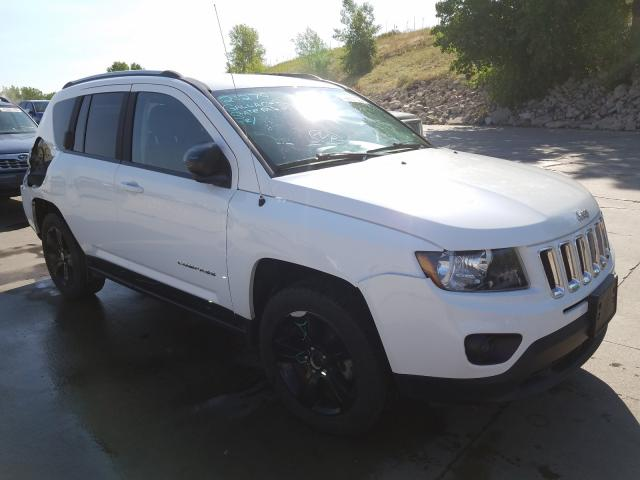 Jeep Compass SP salvage cars for sale: 2016 Jeep Compass SP