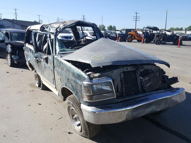 Ford Bronco U10 salvage cars for sale: 1993 Ford Bronco U10