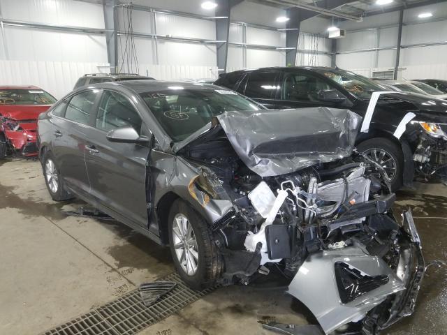 Salvage cars for sale from Copart Ham Lake, MN: 2019 Hyundai Sonata SE
