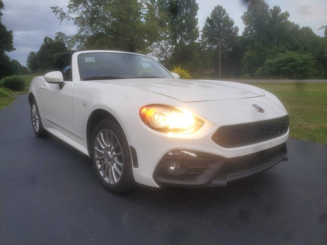 Fiat salvage cars for sale: 2018 Fiat 124 Spider