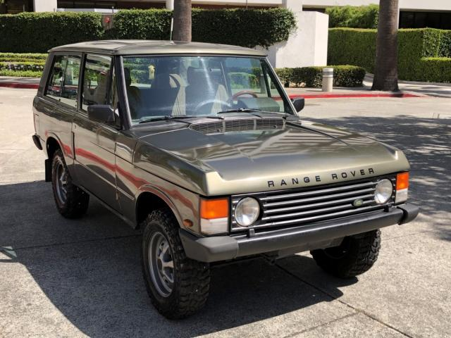 Land Rover Range Rover salvage cars for sale: 1989 Land Rover Range Rover