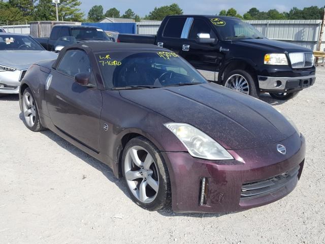 Nissan salvage cars for sale: 2006 Nissan 350Z Roads
