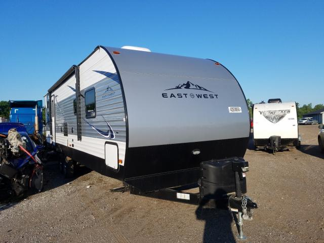 Wildwood Travel Trailer salvage cars for sale: 2019 Wildwood Travel Trailer