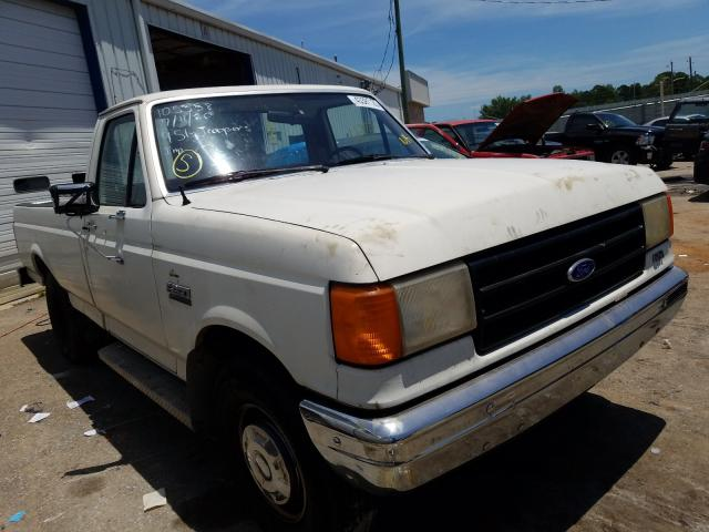Ford F250 salvage cars for sale: 1987 Ford F250