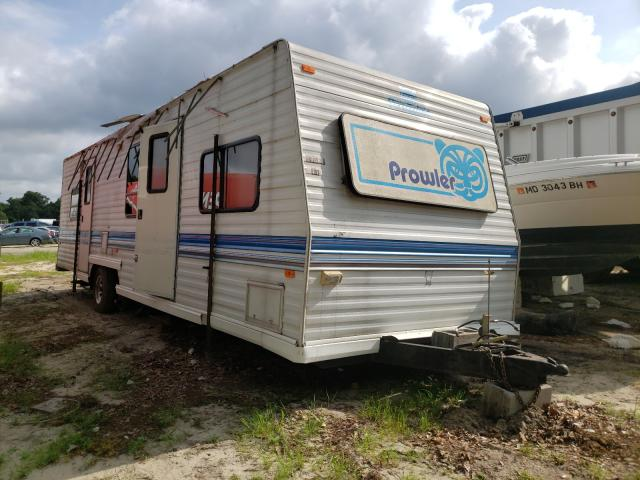 Trail King salvage cars for sale: 1980 Trail King Trailer