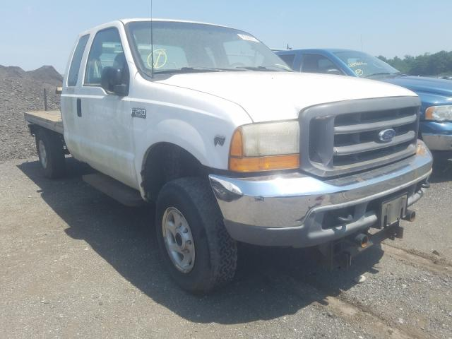 Salvage cars for sale from Copart Brookhaven, NY: 2001 Ford F-250