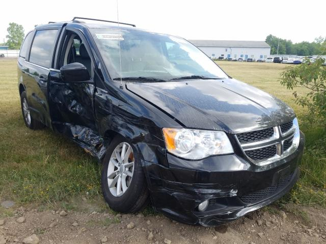 Salvage cars for sale from Copart Columbia Station, OH: 2019 Dodge Grand Caravan