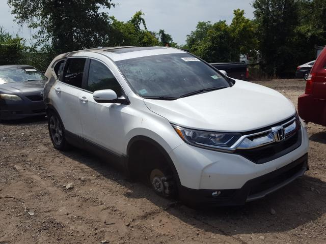 Salvage cars for sale from Copart Baltimore, MD: 2019 Honda CR-V EXL