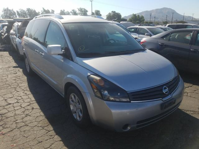 Nissan Quest S salvage cars for sale: 2009 Nissan Quest S