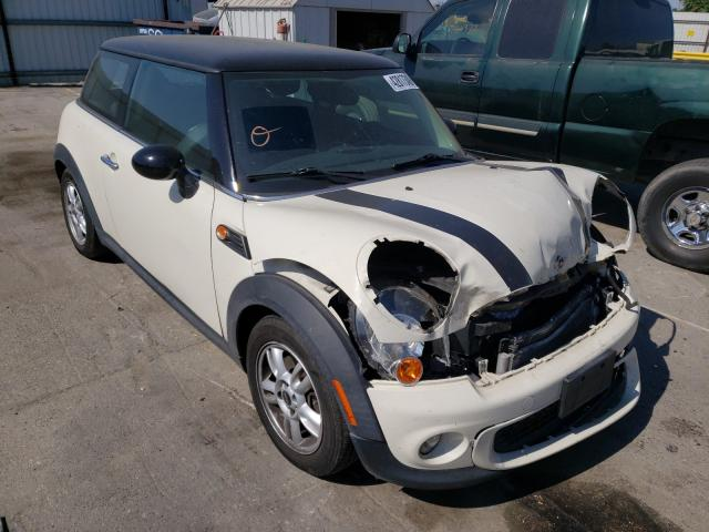 Salvage cars for sale from Copart Bakersfield, CA: 2012 Mini Cooper