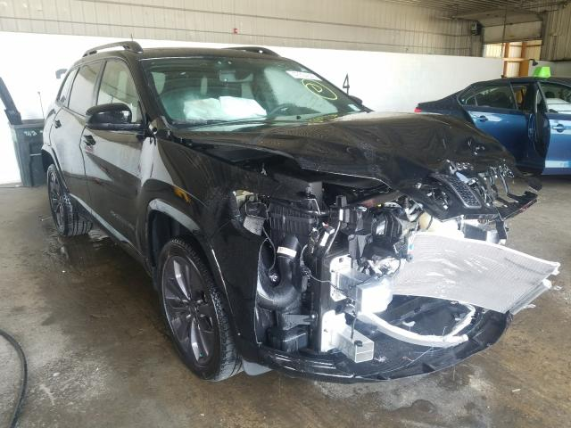 Salvage cars for sale from Copart Candia, NH: 2019 Jeep Cherokee L