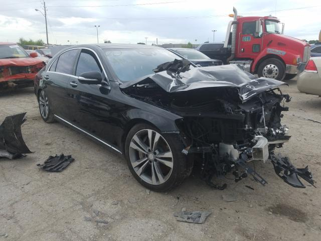 Salvage cars for sale from Copart Indianapolis, IN: 2016 Mercedes-Benz S Class S6