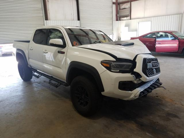 Toyota Tacoma DOU salvage cars for sale: 2020 Toyota Tacoma DOU
