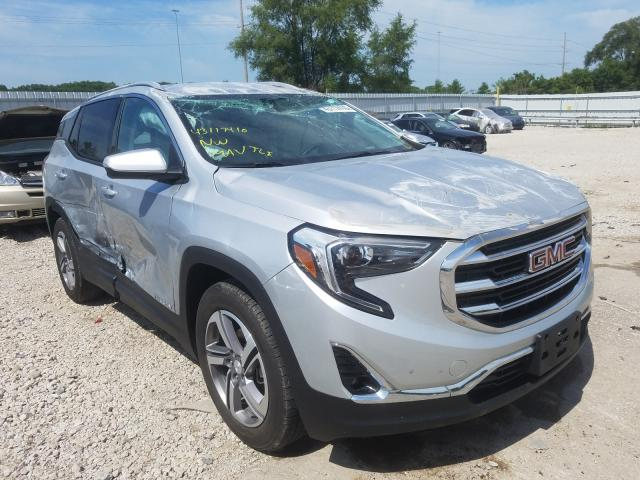 GMC Terrain SL salvage cars for sale: 2018 GMC Terrain SL